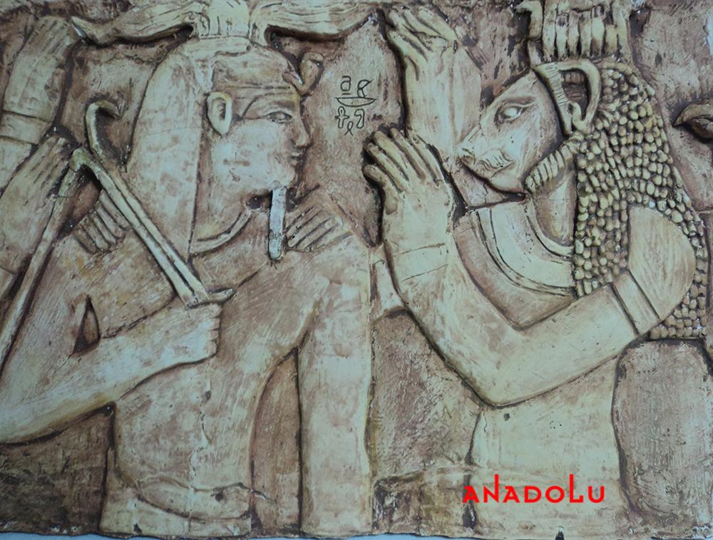 Antik çağ Rölyefleri Yapımı Çukurovada