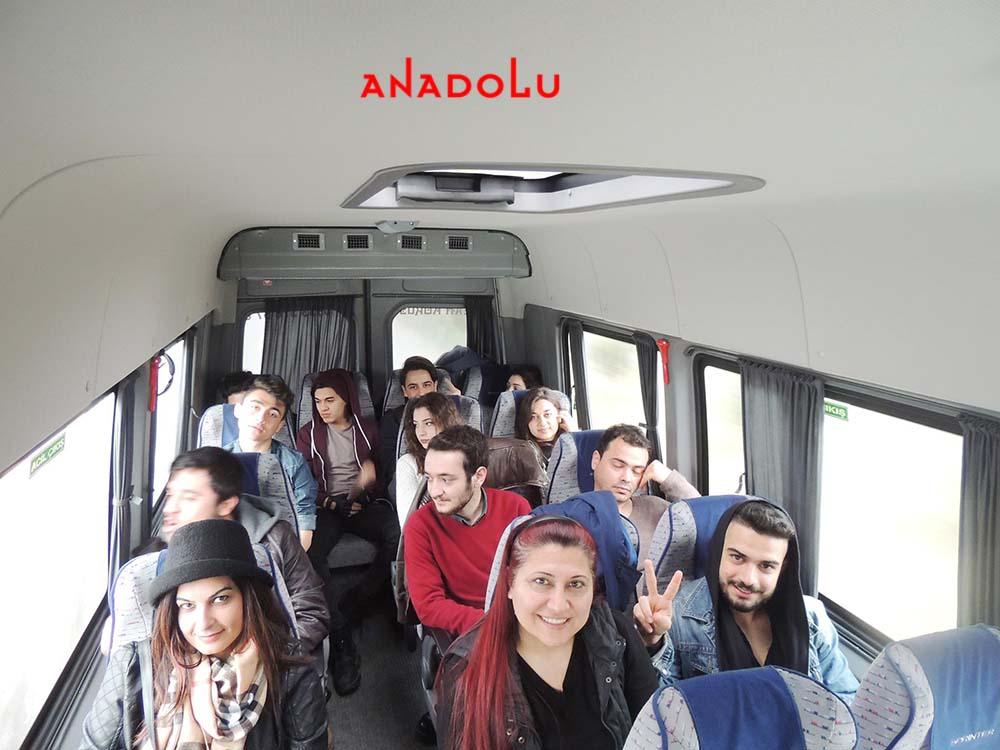 Anadolu Güzel Sanatlar Öğrencileri İle Sınavlara Gitme Çukurovada