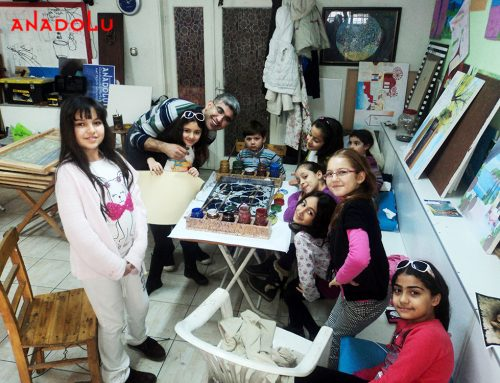 Mersindeki Çocuk Eğitimi ve Karakalem Çizimlerimi