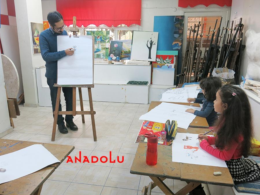 Çocuklar İçin Çizim Eğitimleri Çukurovada