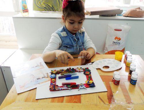 Mersindeki Çocuk Çizimlerinde Ressam İzleri