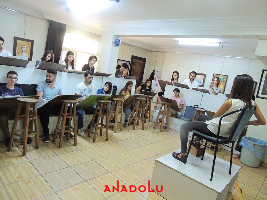 Mersinde Güzel Sanatlara Fakülteleri Hazırlık Sınıfları