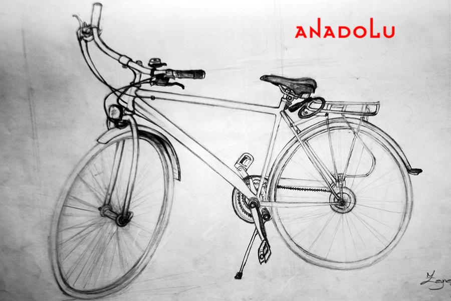 Bisiklet Çizim Örneği Çukurovada