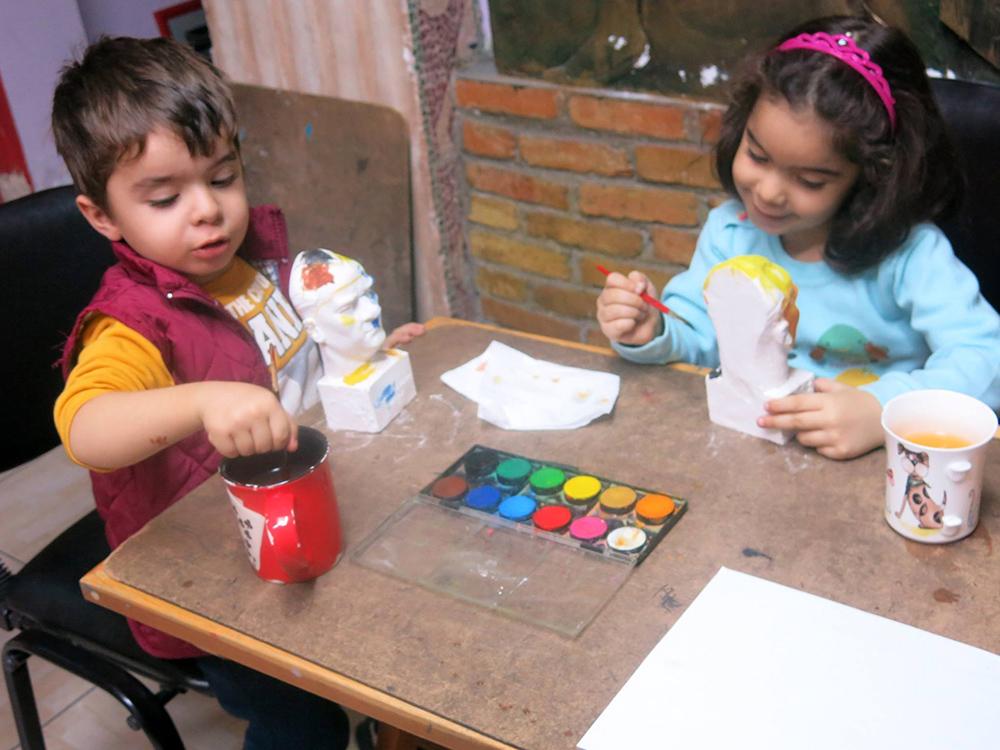 Mersin Çocuk Sanat Dersleri