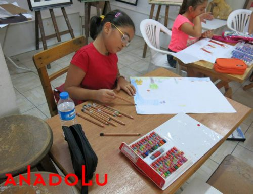 Mersindeki Çocuklar Karakalem Işık Çalışmaları