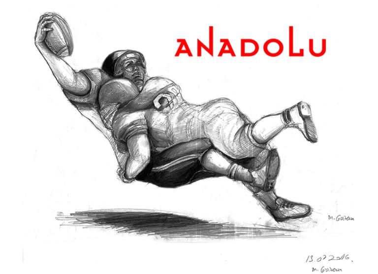 Karakalem Amerikan Futbolu Oynayanlar Çukurova